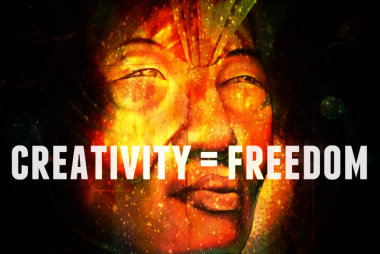 creativity = freedom