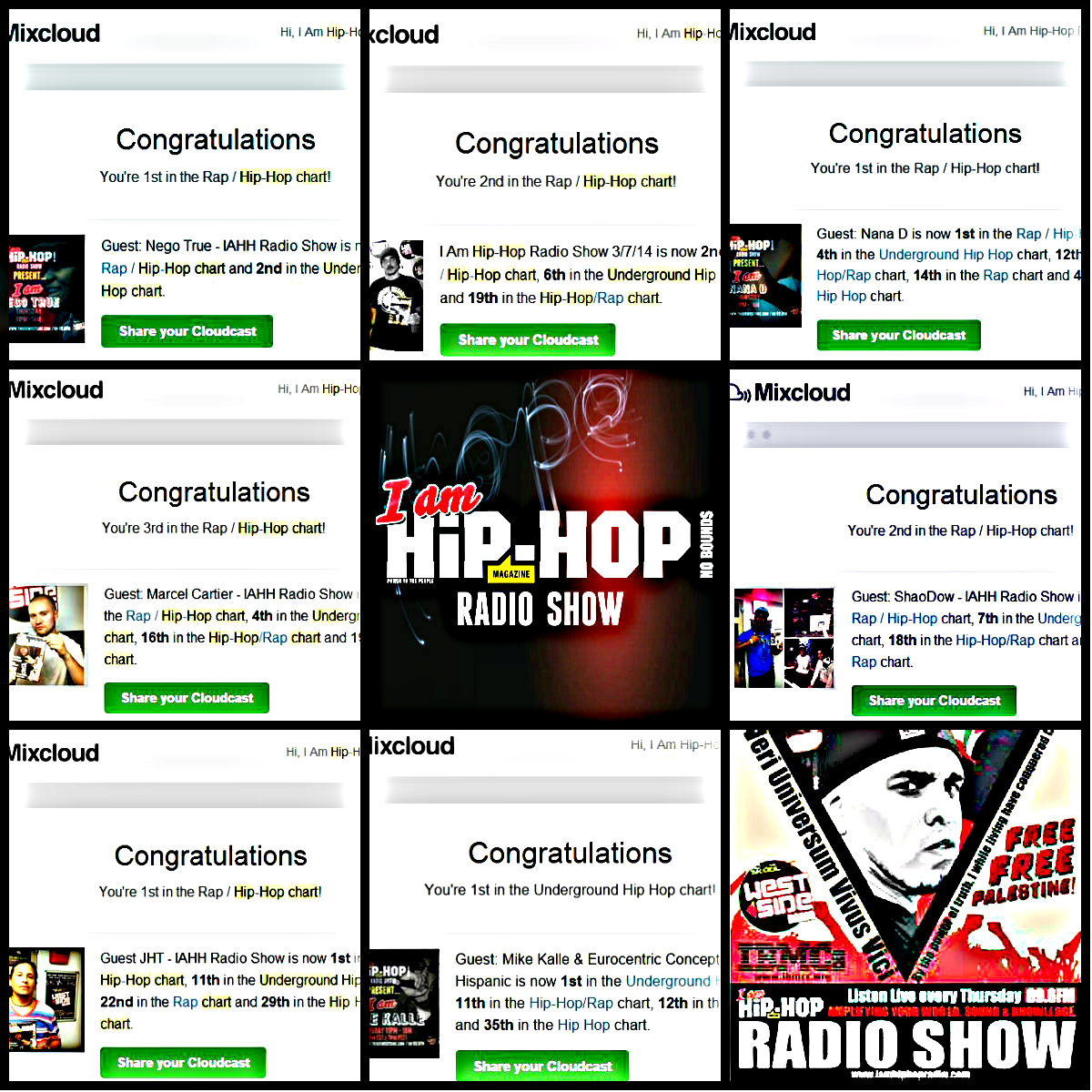 i am hip hop radio show success
